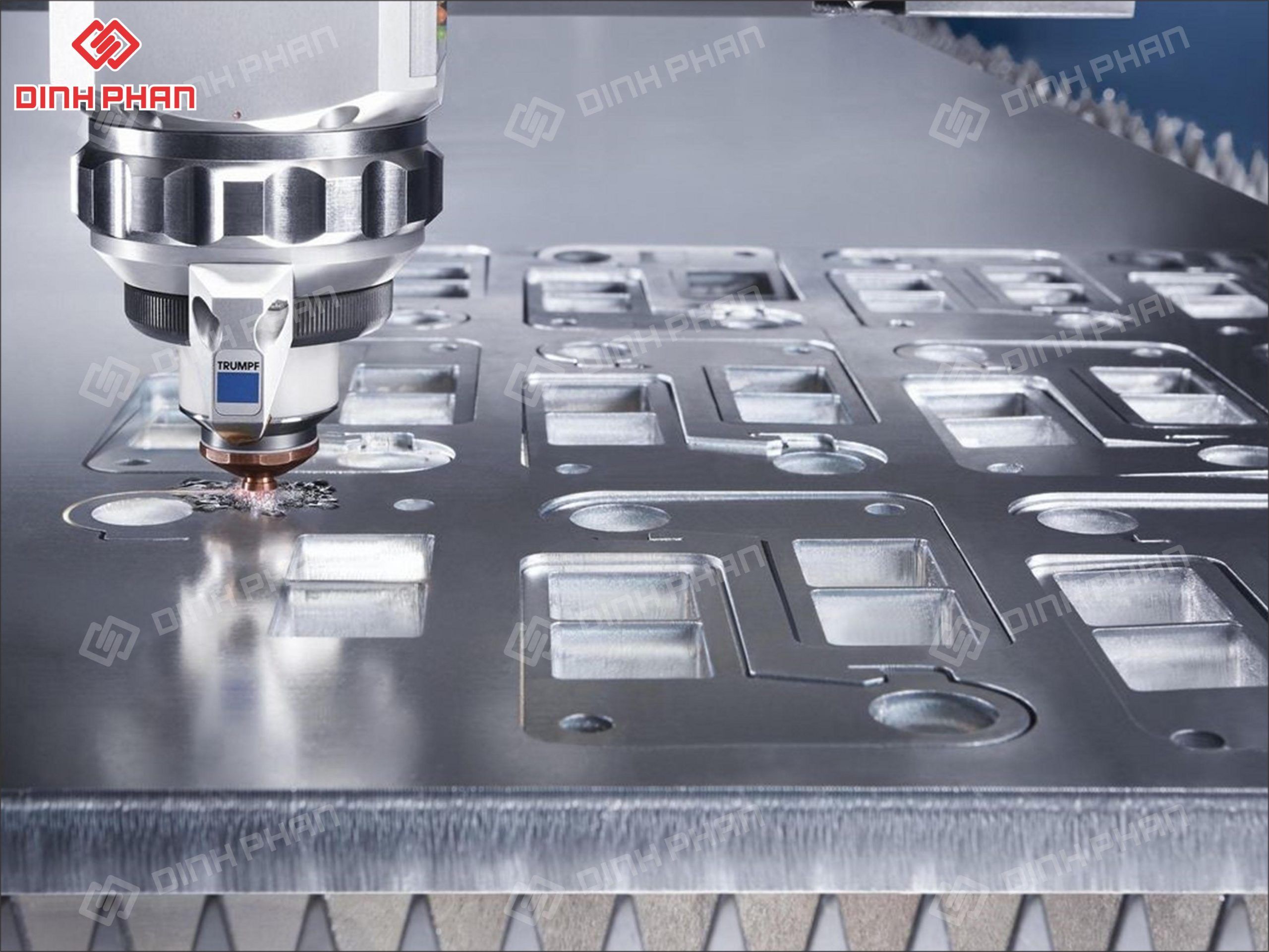 gia công cắt laser kim loại