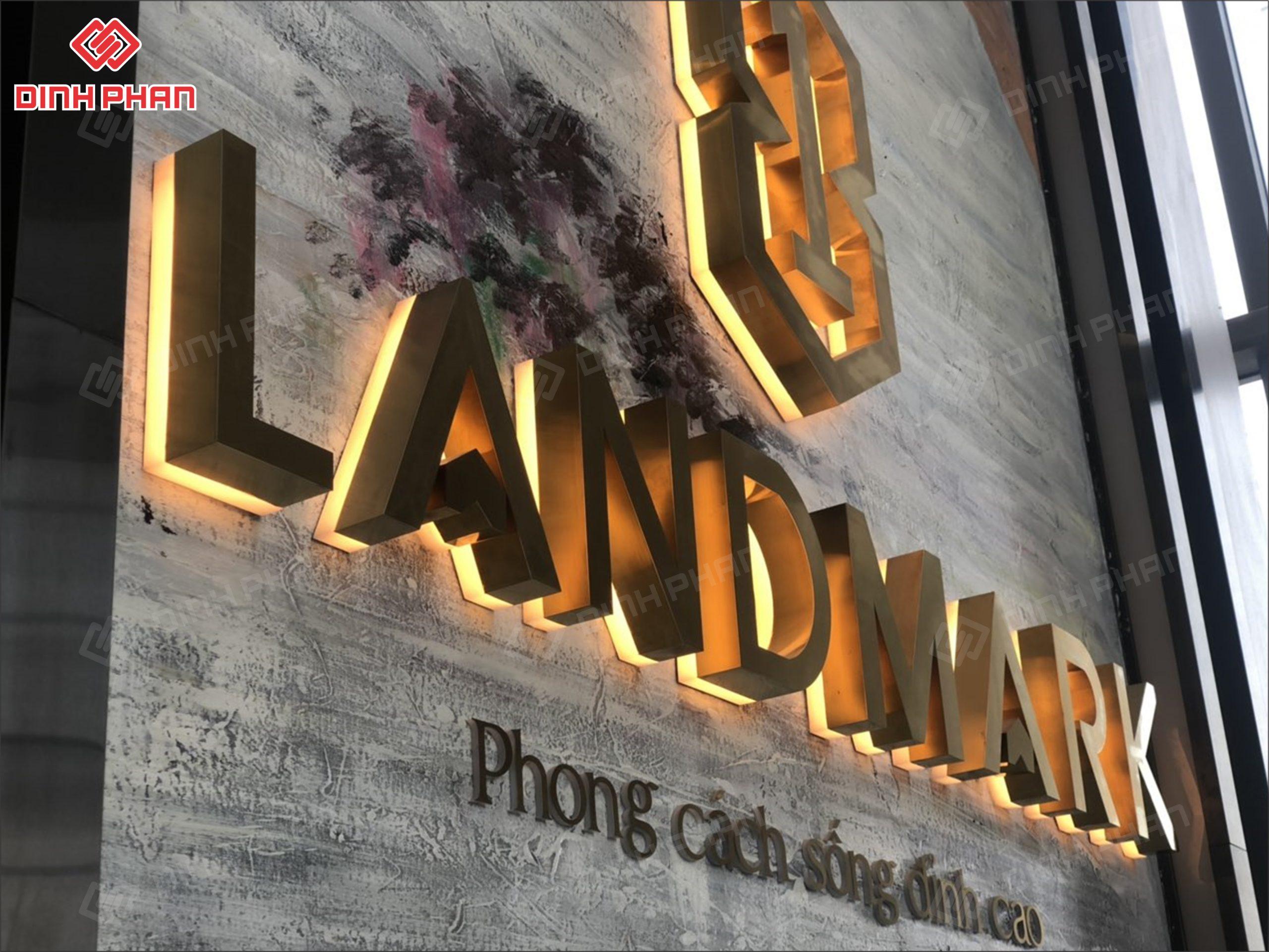 bảng hiệu quận bình thạnh - bảng hiệu dự án landmark 81