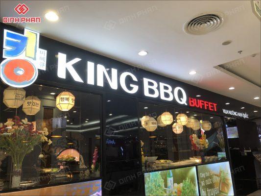 làm bảng hiệu quận thủ đức tp thủ đức - bảng hiệu nhà hàng king bbq
