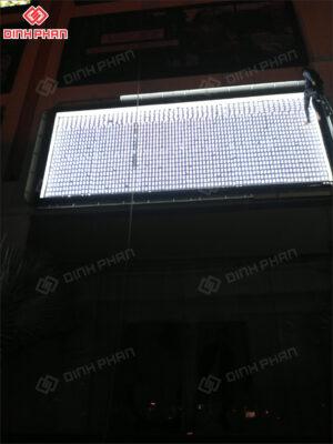 bạt không gân in uv - hộp đèn VinFast