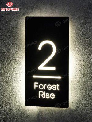 biển số phòng - biển số nhà - hộp đèn
