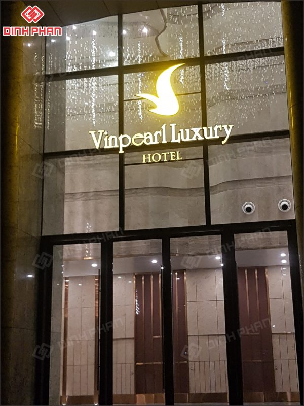 làm bảng hiệu khách sạn - dự án vinpearl luxury hotel landmark 81