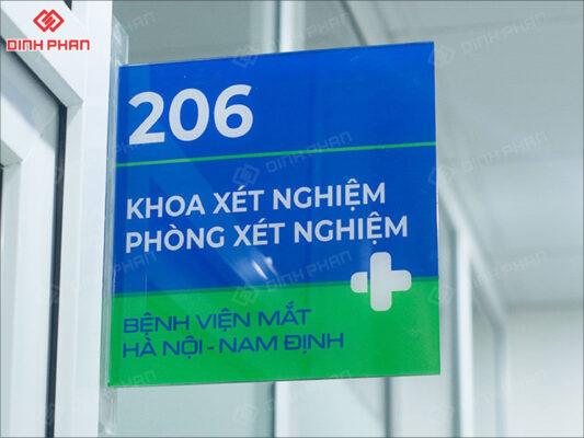làm bảng hiệu bệnh viện