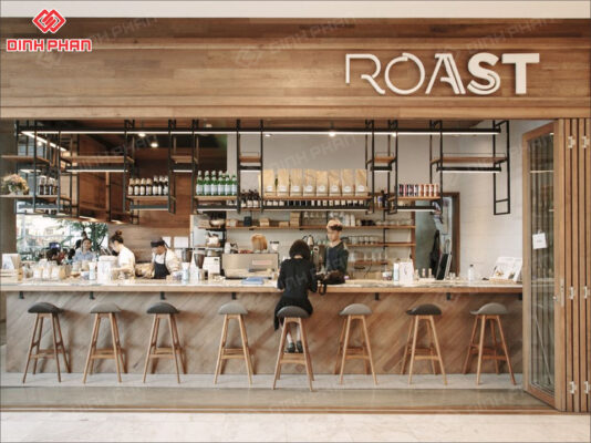 bảng hiệu quán cafe