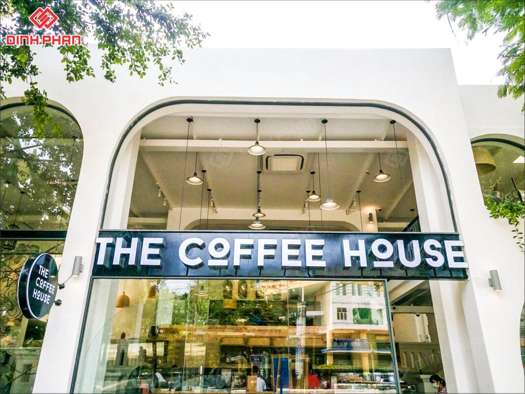 bảng hiệu quán cafe - the coffee house